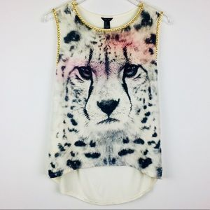 Forever 21 Animal Graphic Top